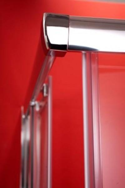 sprchové kouty - chromovaný rám