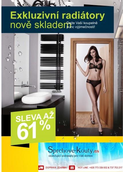 designové radiátory za super ceny