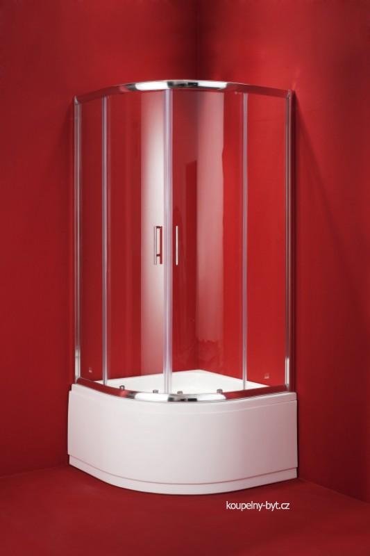 Sprchový kout s hlubokou vaničkou
