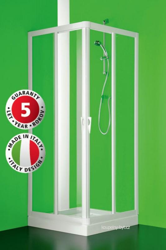 Sprchové zástěny a sprchové kouty Skipper - nabízejí možnost řešení atypických koutů díky velké rozměrové variabilitě