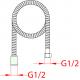 Sprchová hadice 5400201