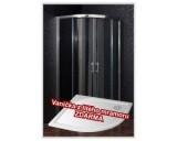 Sprchový kout BRILIANT 90 clear NEW s vaničkou STONE 9090R - akce