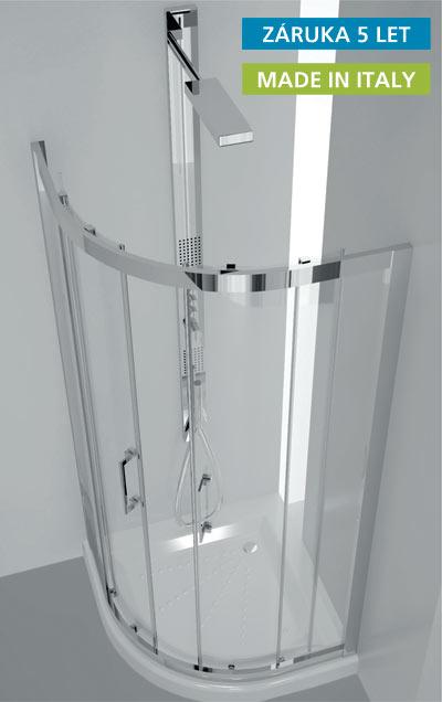 Sprchový kout Flora 90x90 cm