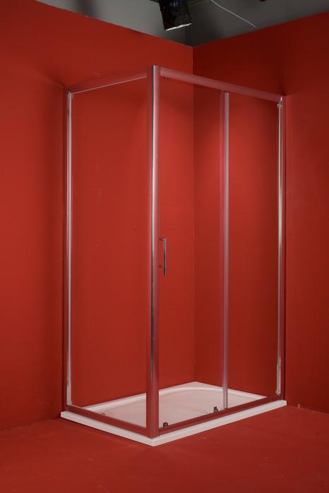 Sprchový kout Braga 100x80 cm