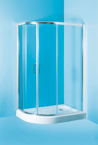 Sprchový kout Ibiza 100x80 cm