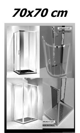 Sprchové kouty 70x70 cm