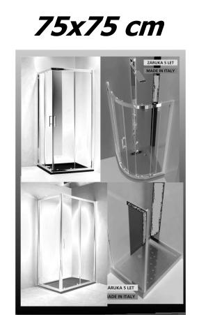 Sprchové kouty 75x75 cm