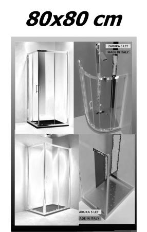 Sprchové kouty 80x80 cm