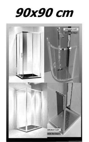 Sprchové kouty 90x90 cm