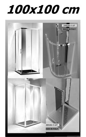 Sprchové kouty 100x100 cm