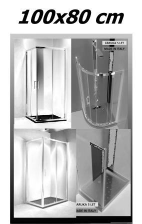Sprchové kouty 100x80 cm