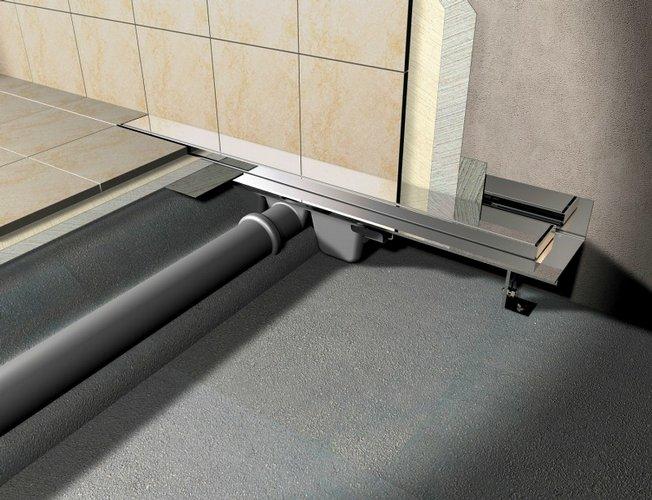 Podlahový žlab s nastavitelným límcem