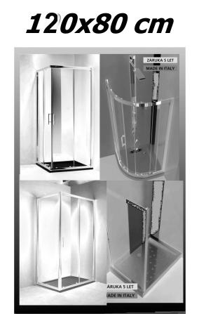 Sprchové kouty 120x80 cm